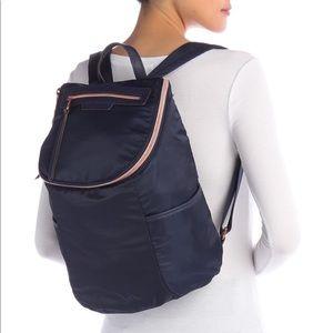 AIMEE KESTENBERG Navy Sardinia Backpack NEW